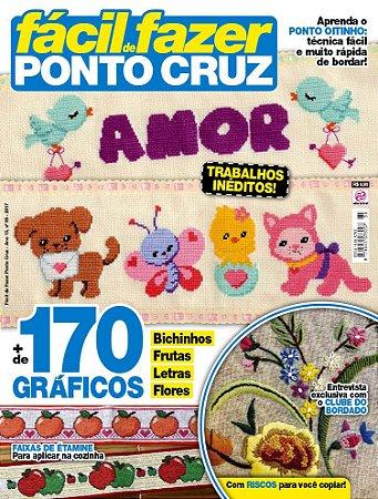 FÁCIL DE FAZER PONTO CRUZ - EDIÇÃO 85 (2017)