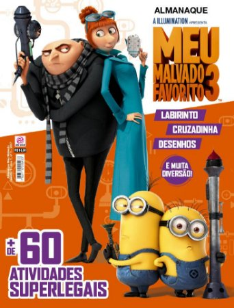 ALMANAQUE MEU MALVADO FAVORITO 3 - EDIÇÃO 1 (2017)