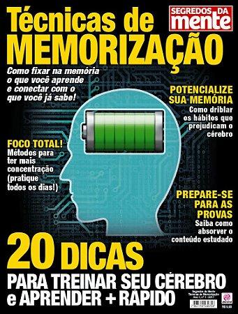 SEGREDOS DA MENTE - TÉCNICAS DE MEMORIZAÇÃO - EDIÇÃO 1 (2017)