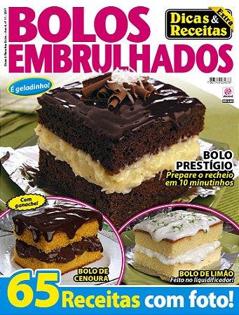 DICAS & RECEITAS EXTRA - EDIÇÃO 11 - BOLOS EMBRULHADOS (2017)