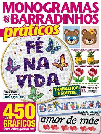 MONOGRAMAS & BARRADINHOS PRÁTICOS - EDIÇÃO 3 (2017)
