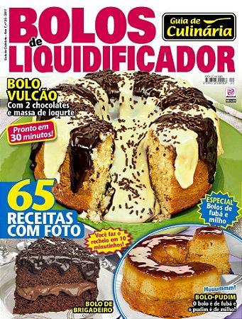 GUIA DE CULINÁRIA - EDIÇÃO 20 - BOLOS DE LIQUIDIFICADOR (2017)