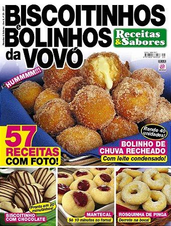 RECEITAS & SABORES - EDIÇÃO 29 - BISCOITINHOS E BOLINHOS DA VOVÓ (2017)