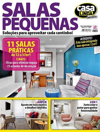 CASA LINDA AMBIENTES - EDIÇÃO 7 - SALAS PEQUENAS (2017)