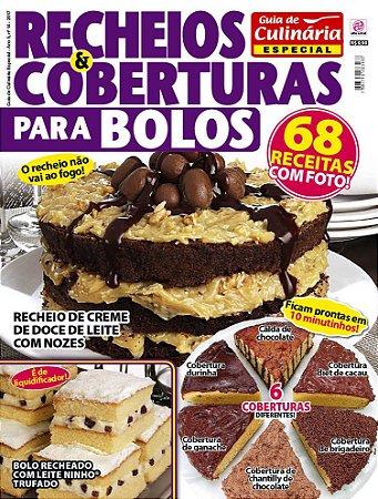GUIA DE CULINÁRIA ESPECIAL - EDIÇÃO 14 - RECHEIOS E COBERTURAS PARA BOLO (2017)