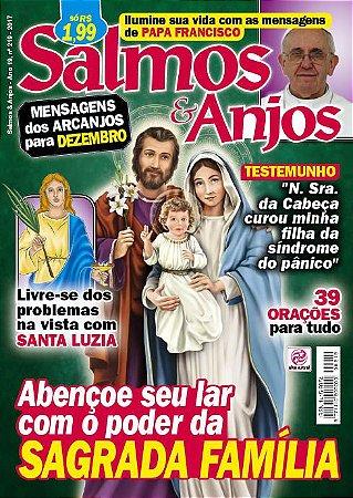 SALMOS & ANJOS - EDIÇÃO 219 - DEZEMBRO 2017