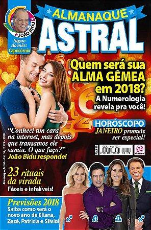ALMANAQUE ASTRAL - EDIÇÃO 179 - JANEIRO 2018