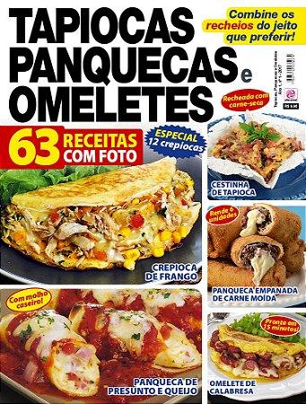 TAPIOCAS, PANQUECAS E OMELETES - EDIÇÃO 1 (2017)
