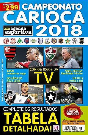 REVISTA AGENDA ESPORTIVA - EDIÇÃO 48 - CARIOCA 2018