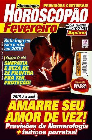 ALMANAQUE HOROSCOPÃO - EDIÇÃO 187 (2018)
