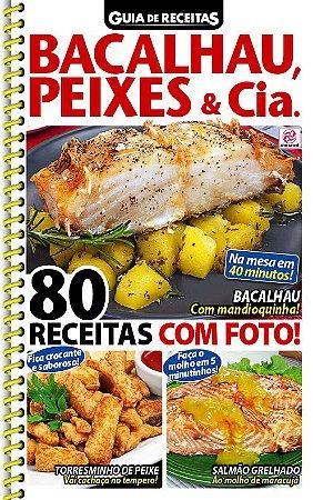 GUIA DE RECEITAS - EDIÇÃO 90 - BACALHAU, PEIXES & CIA (2018)