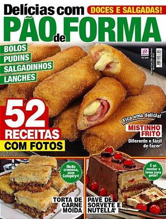 DELÍCIAS COM PÃO DE FORMA - EDIÇÃO 2 (2018)