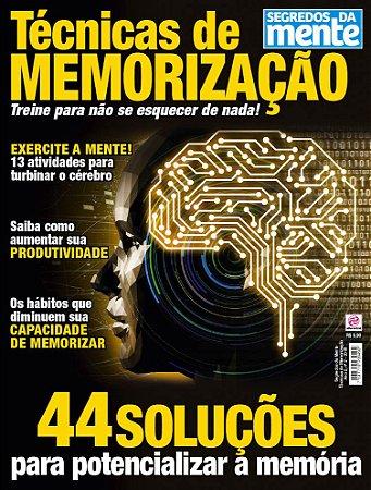 SEGREDOS DA MENTE - TÉCNICAS DE MEMORIZAÇÃO - EDIÇÃO 2 (2018)