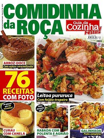 GUIA DA COZINHA FESTA! - EDIÇÃO 34 - COMIDINHA DA ROÇA (2018)