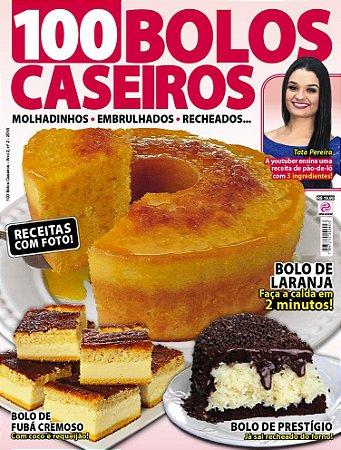 100 BOLOS CASEIROS - EDIÇÃO 2 (2018)