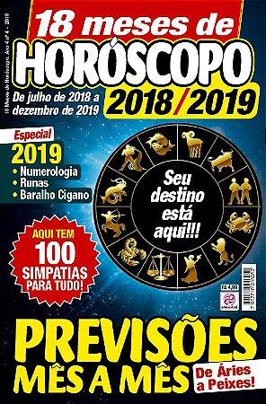 18 MESES DE HORÓSCOPO - EDIÇÃO 4 (2018)