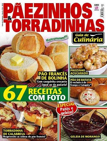 GUIA DE CULINÁRIA - EDIÇÃO 24 - PÃEZINHOS E TORRADINHAS (2018)