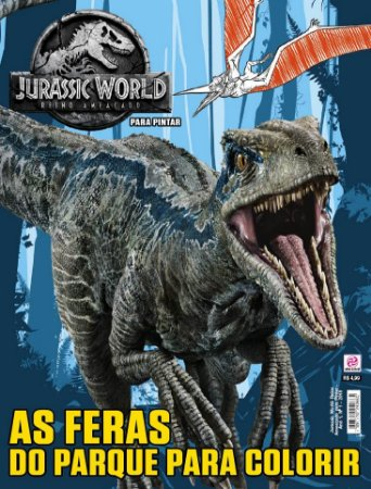 JURASSIC WORLD: REINO AMEAÇADO PARA PINTAR - EDIÇÃO 1 (2018)