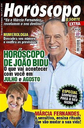 HORÓSCOPO & SORTE EXTRA - EDIÇÃO 1 (2018)