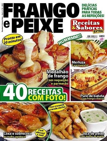 RECEITAS & SABORES EXTRA - EDIÇÃO 21 - FRANGO E PEIXE (2018)