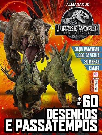 ALMANAQUE JURASSIC WORLD: REINO AMEAÇADO - EDIÇÃO 1 (2018)