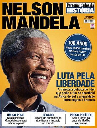 PERSONALIDADES DA HISTÓRIA - EDIÇÃO 5 - NELSON MANDELA (2018)