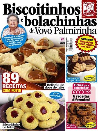 DELÍCIAS DA VOVÓ PALMIRINHA - EDIÇÃO 42 - BISCOITINHOS E BOLACHINHAS (2018)