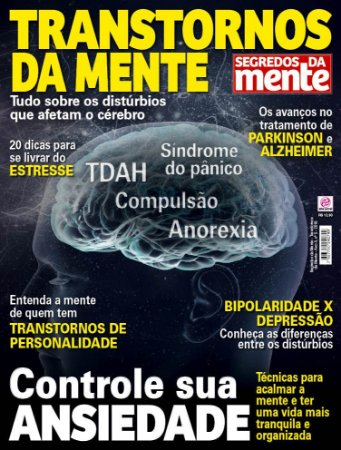 SEGREDOS DA MENTE - TRANSTORNOS DA MENTE - EDIÇÃO 5 (2018)