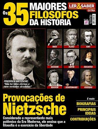 LER & SABER EXTRA - EDIÇÃO 9 - 35 MAIORES FILÓSOFOS DA HISTÓRIA (2018)