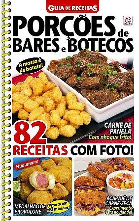 GUIA DE RECEITAS - EDIÇÃO 93 - PORÇÕES DE BARES E BOTECOS (2018)