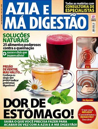 AZIA E MÁ DIGESTÃO - EDIÇÃO 1 (2018)