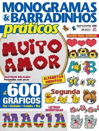 MONOGRAMAS & BARRADINHOS PRÁTICOS - EDIÇÃO 5 (2018)