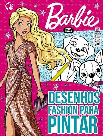 BARBIE PARA PINTAR - EDIÇÃO 48 (2018)