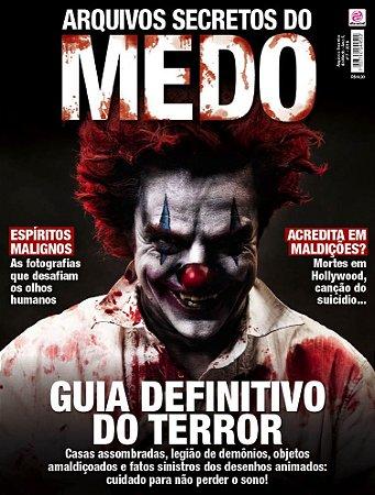 ARQUIVOS SECRETOS DO MEDO - EDIÇÃO 7 (2018)