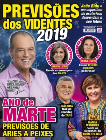 PREVISÕES DOS VIDENTES - 2019