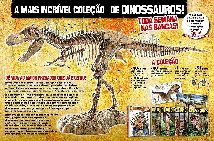 Dinossauros Gigantes da Pré-História - Edições Individuais
