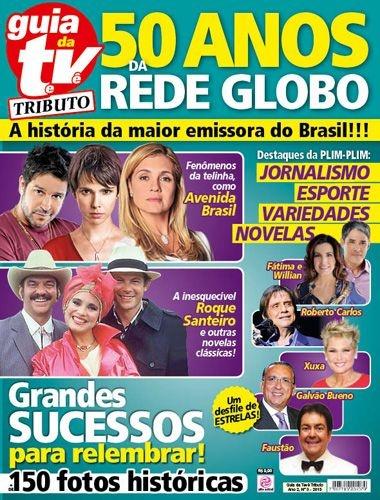 GUIA DA TEVÊ TRIBUTO 3 - 50 ANOS REDE GLOBO (2015)