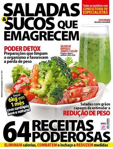 SALADAS & SUCOS QUE EMAGRECEM - 4 (2015)