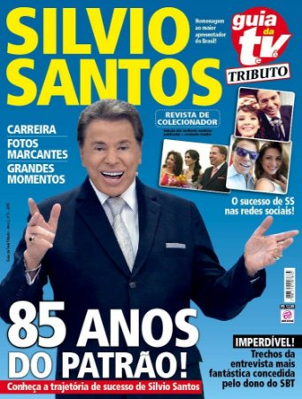GUIA DA TEVÊ TRIBUTO 5 - SILVIO SANTOS (2015)