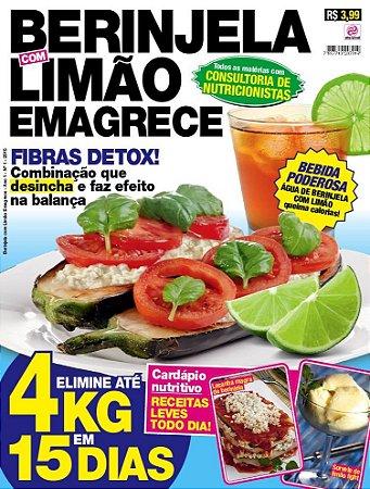 BERINJELA COM LIMÃO EMAGRECE - 1 (2015)