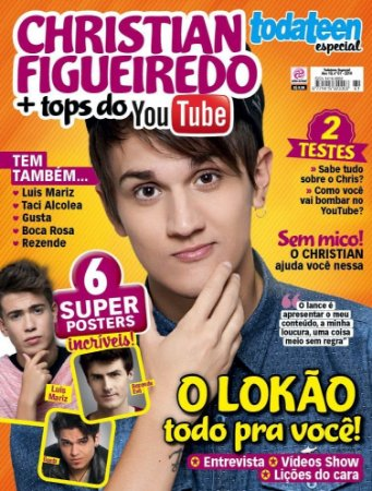 TODATEEN ESPECIAL 61 - CHRISTIAN FIGUEIREDO + TOPS DO YOUTUBE (2016)