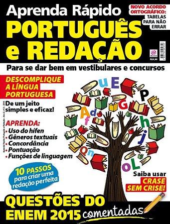 APRENDA RÁPIDO PORTUGUÊS E REDAÇÃO - 2 (2016) RELEITURA