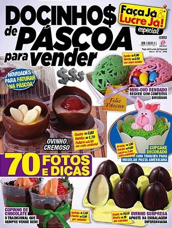 FAÇA JÁ & LUCRE JÁ ESPECIAL 14 - DOCINHOS DE PÁSCOA PARA VENDER (2016)