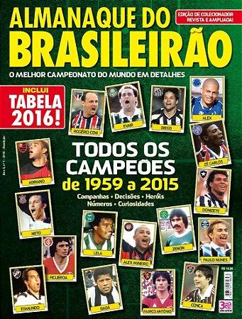 ALMANAQUE DO BRASILEIRÃO - 1 (2016) REEDIÇÃO