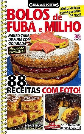 GUIA DE RECEITAS - 79 BOLOS DE FUBÁ E MILHO (2016)