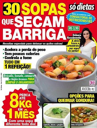SÓ DIETAS - 54 SOPAS QUE SECAM BARRIGA (2016)