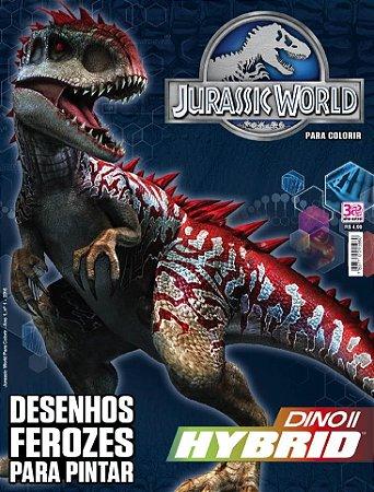 JURASSIC WORLD PARA COLORIR - 1 (2016)
