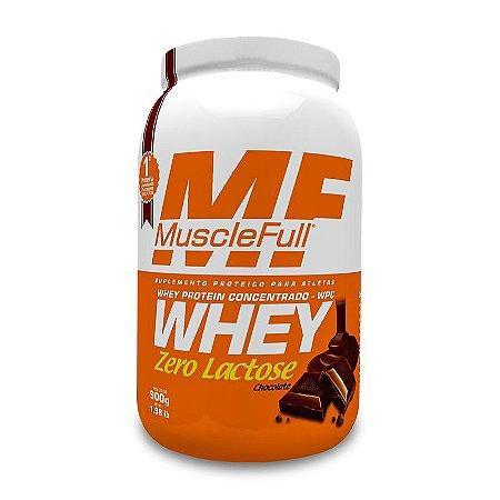 Whey Zero Lactose - 900g - Musclefull