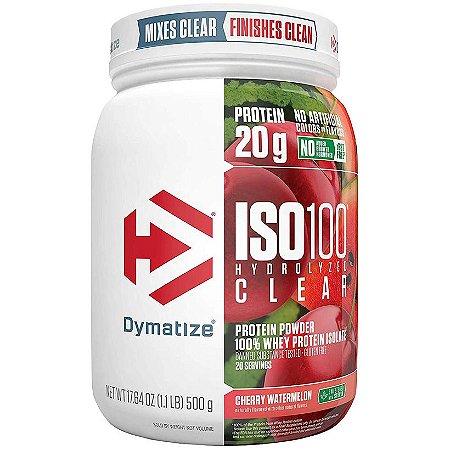 Iso 100 Clear - 500g - Dymatize Nutrition