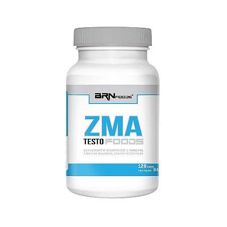 Zma Testo Foods - 120 Caps - Brnfoods
